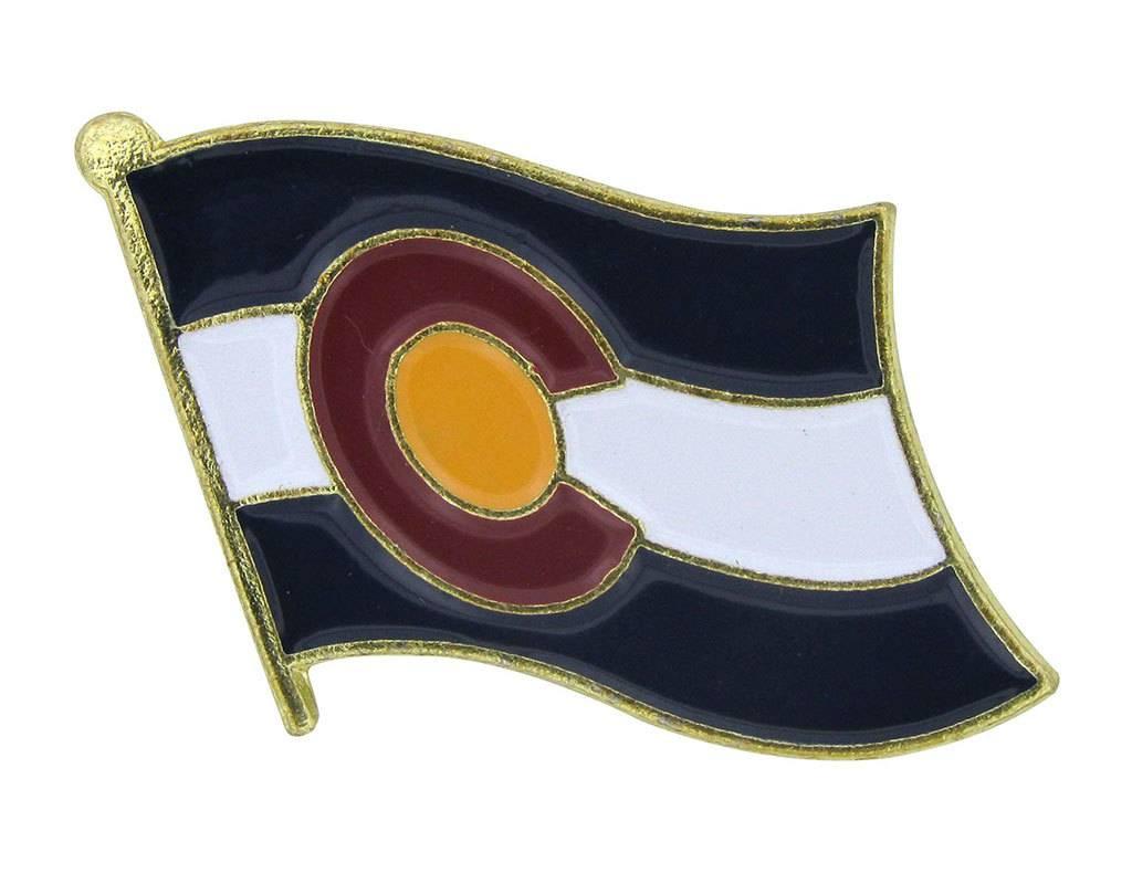 Online Stores Lapel Pin - Colorado Flag