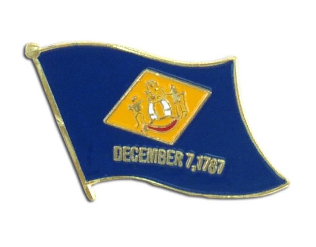 Online Stores Lapel Pin - Delaware Flag