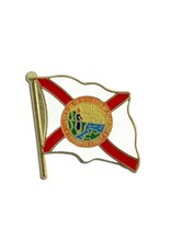 Online Stores Lapel Pin - Florida Flag