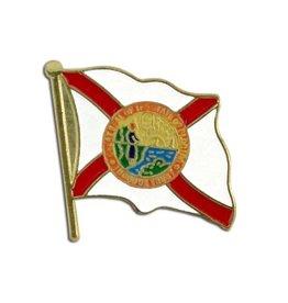 Online Stores Lapel Pin - Florida Flag