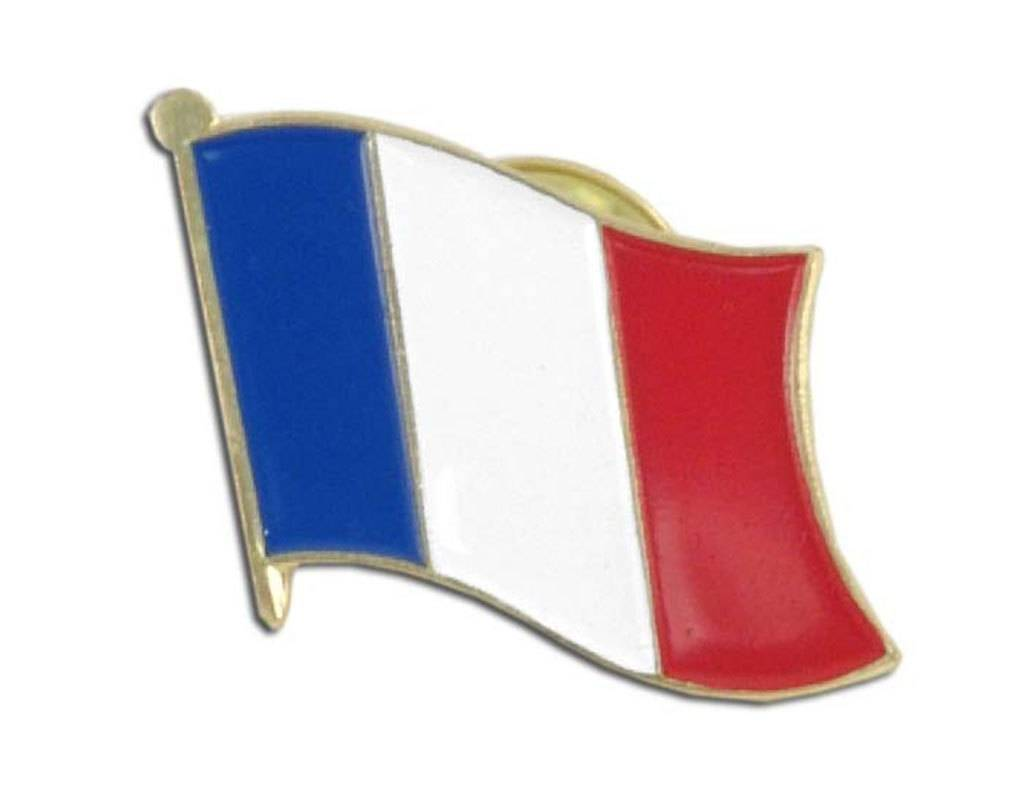 Online Stores Lapel Pin - France Flag