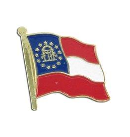 Online Stores Lapel Pin - Georgia Flag