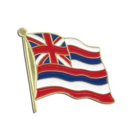 Online Stores Lapel Pin - Hawaii State Flag