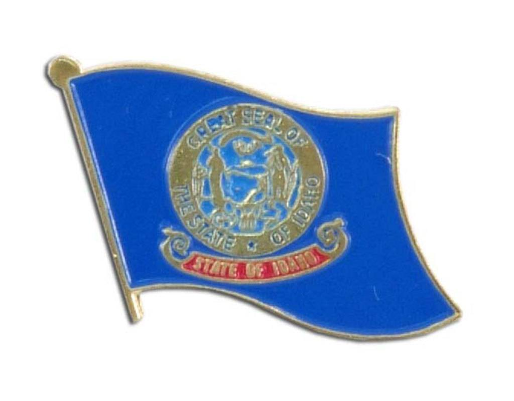 Online Stores Lapel Pin - Idaho Flag