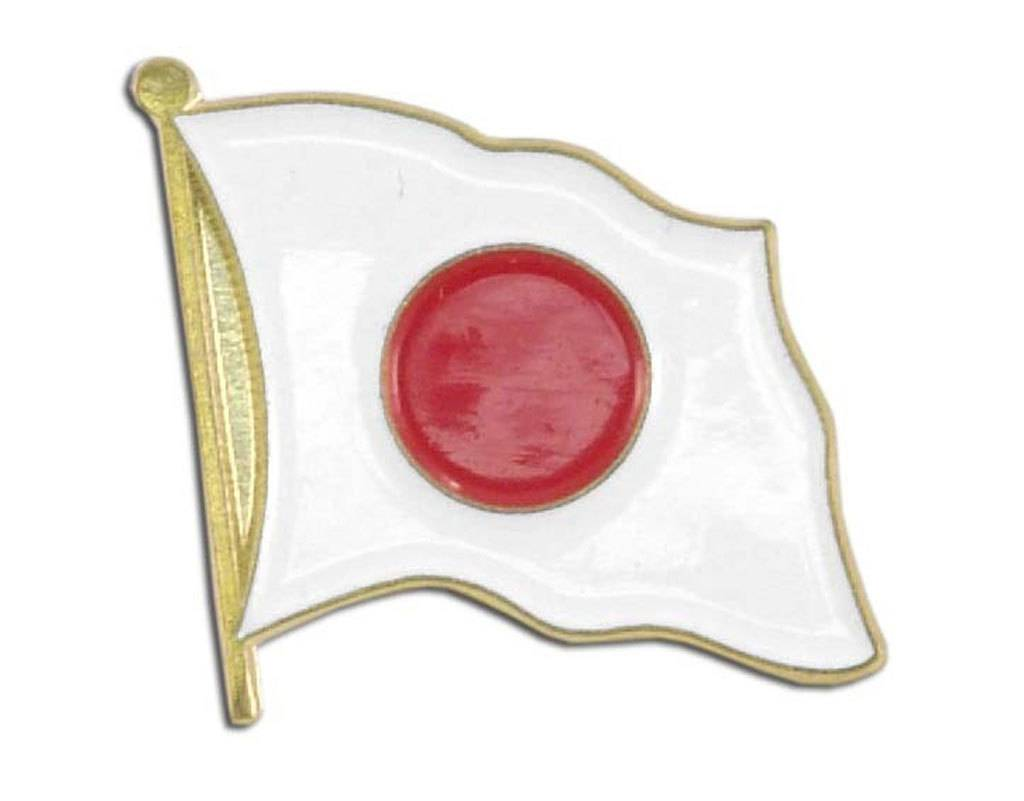 Online Stores Lapel Pin - Japan Flag
