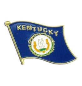 Online Stores Lapel Pin - Kentucky Flag