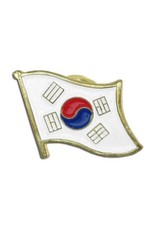 Online Stores Lapel Pin - Korea Flag
