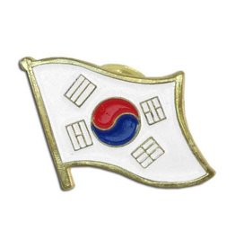 Online Stores Lapel Pin - Korea Flag