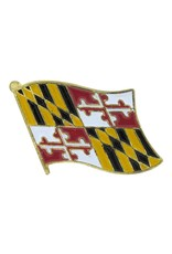 Online Stores Lapel Pin - Maryland Flag