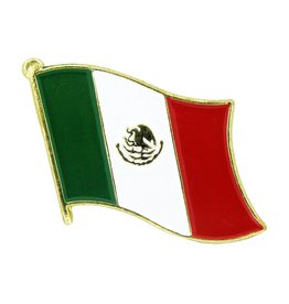 Online Stores Lapel Pin - Mexico Flag
