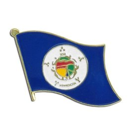 Online Stores Lapel Pin - Minnesota Flag