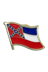 Online Stores Lapel Pin - Mississippi Flag