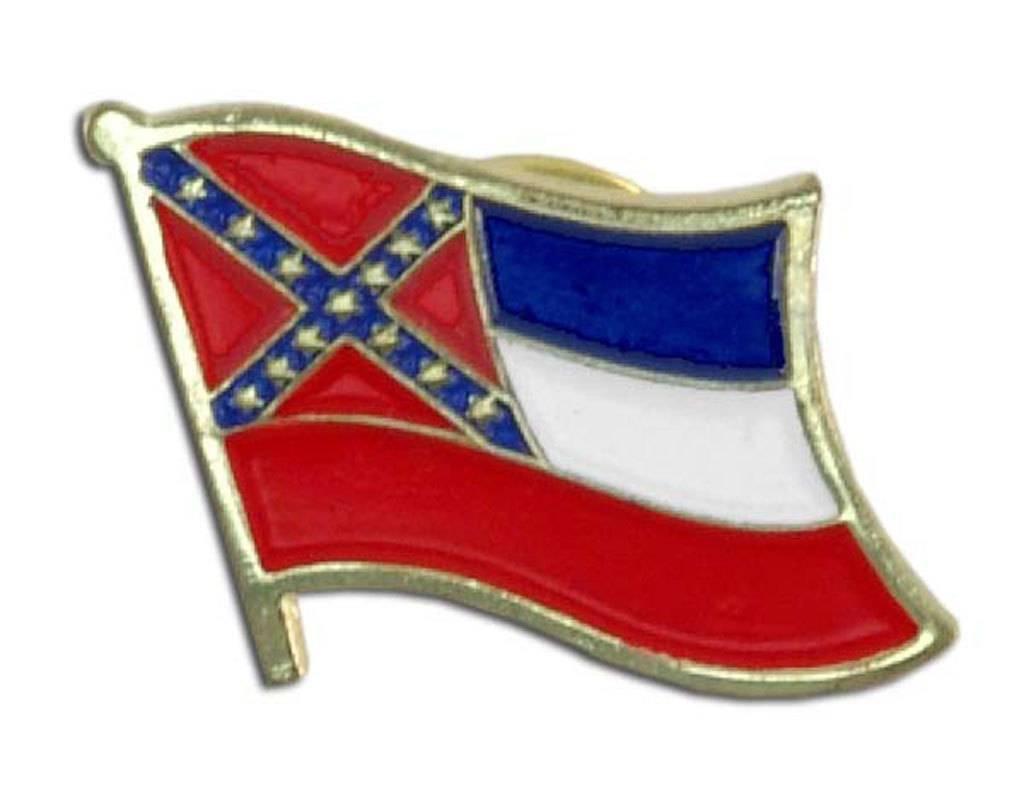 Online Stores Lapel Pin - Mississippi Flag
