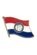 Online Stores Lapel Pin - Missouri Flag
