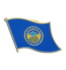 Online Stores Lapel Pin - Nebraska Flag