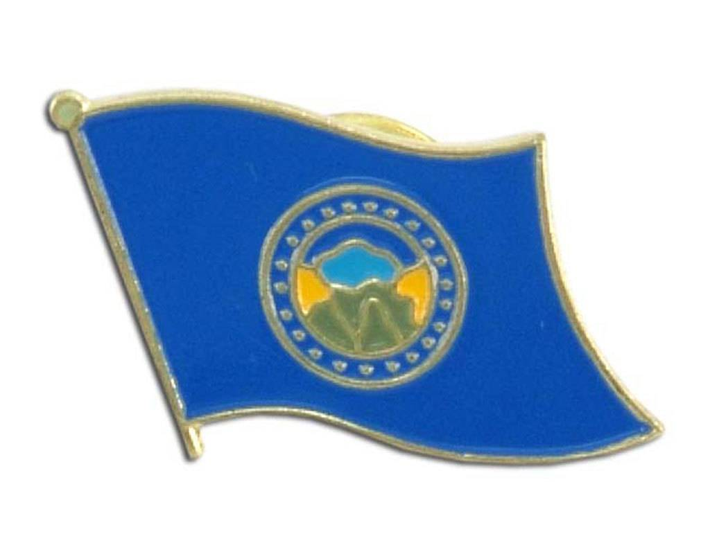 Online Stores Lapel Pin - Nebraska Flag