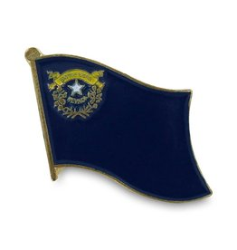 Online Stores Lapel Pin - Nevada Flag