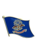 Online Stores Lapel Pin - North Dakota Flag
