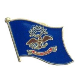 Online Stores Lapel Pin - North Dakota Flag