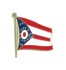 Online Stores Lapel Pin - Ohio Flag