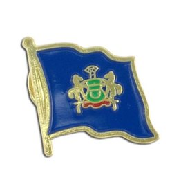 Online Stores Lapel Pin - Pennsylvania Flag