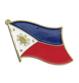 Online Stores Lapel Pin - Philippines Flag