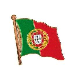 Popcorn Tree Lapel Pin - Portugal Flag