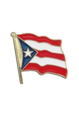 Online Stores Lapel Pin - Puerto Rico