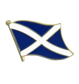 Online Stores Lapel Pin - Scotland Flag