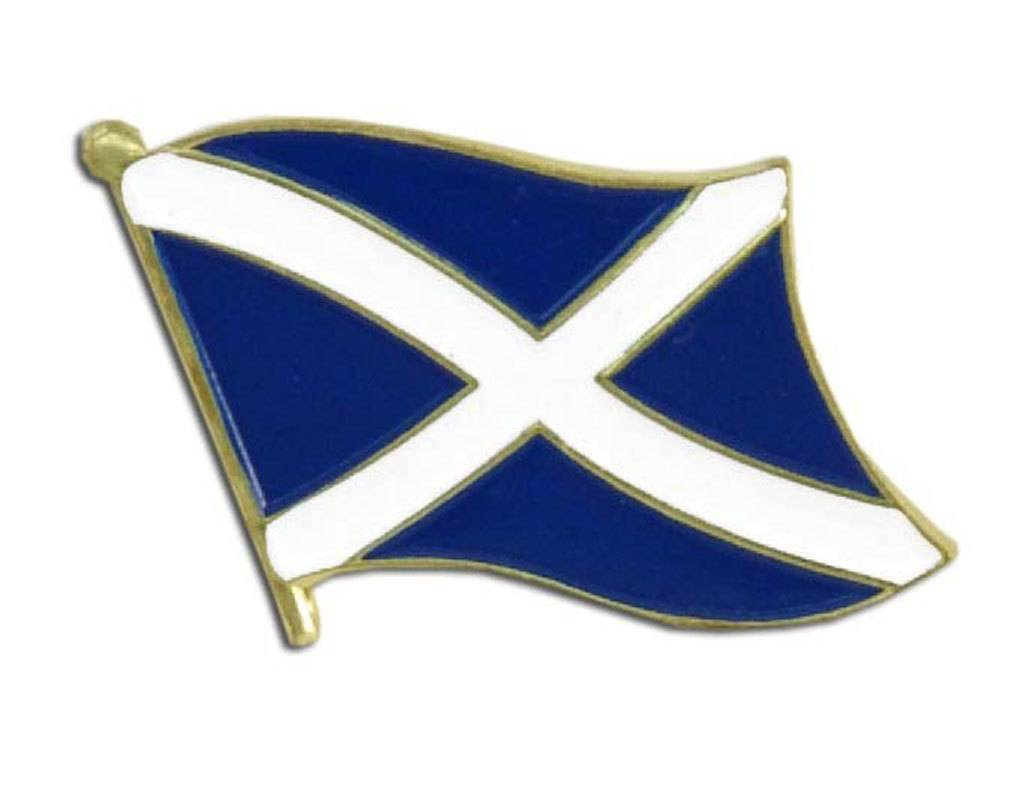 Online Stores Lapel Pin - Scotland Flag