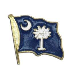 Online Stores Lapel Pin - South Carolina Flag