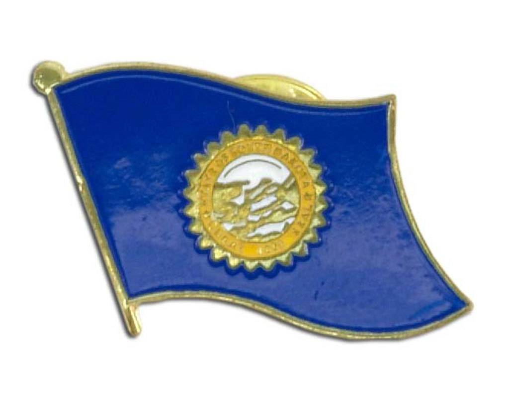 Online Stores Lapel Pin - South Dakota Flag