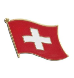 Online Stores Lapel Pin - Switzerland Flag