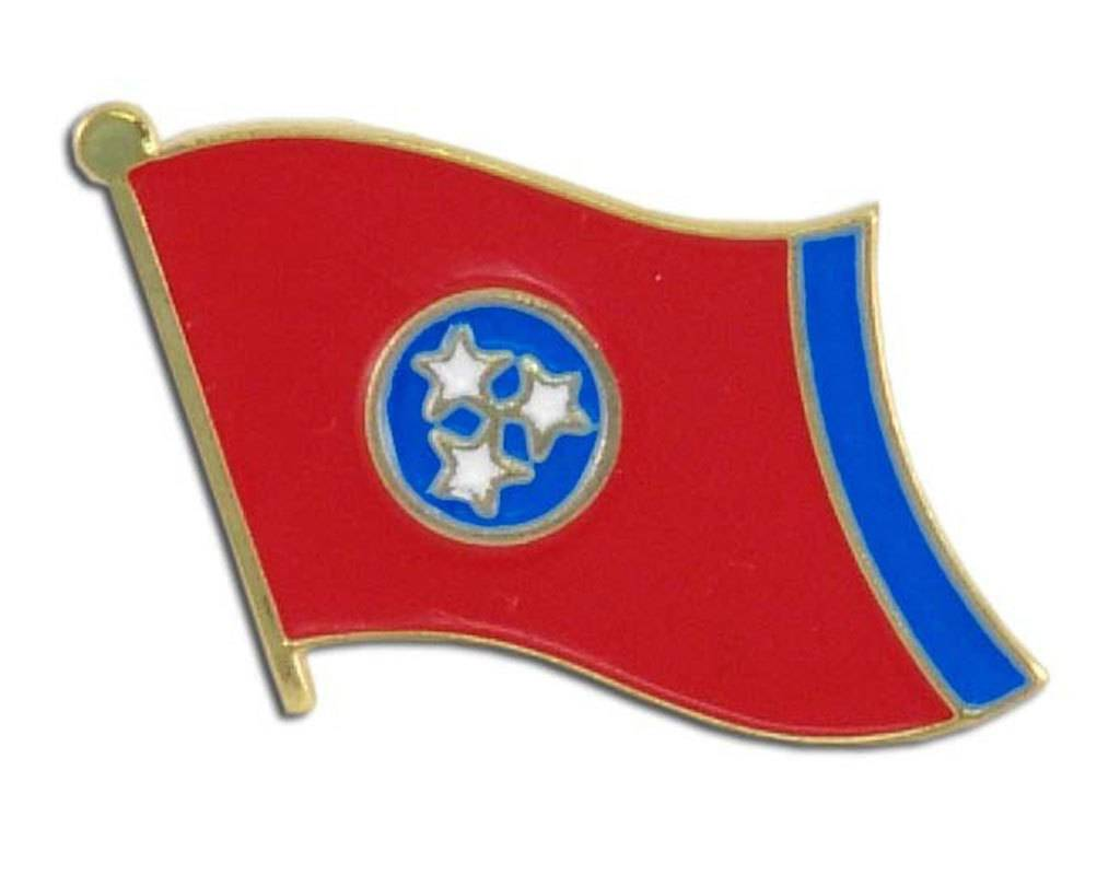Online Stores Lapel Pin - Tennessee Flag