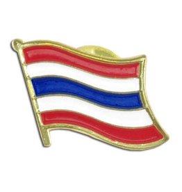 Popcorn Tree Lapel Pin - Thailand Flag