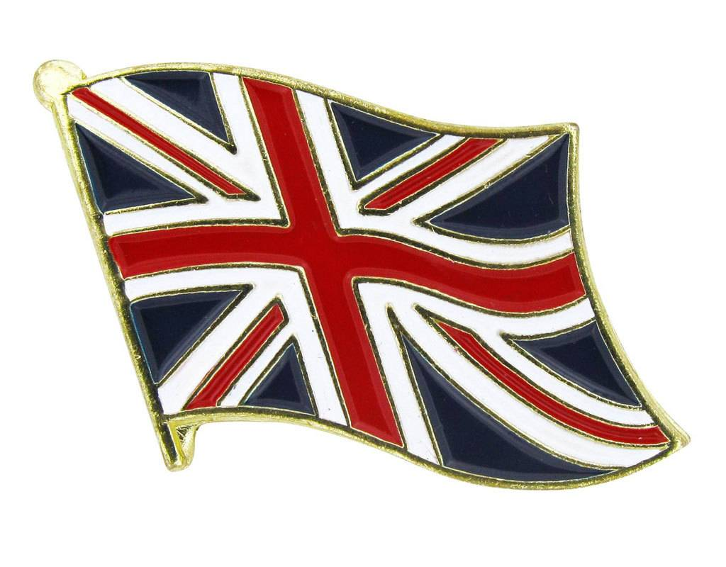 Online Stores Lapel Pin - United Kingdom Flag