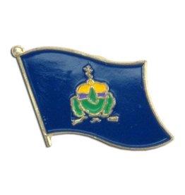 Online Stores Lapel Pin - Vermont Flag