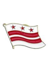 Online Stores Lapel Pin - Washington DC Flag