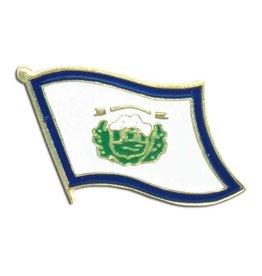 Online Stores Lapel Pin - West Virginia Flag