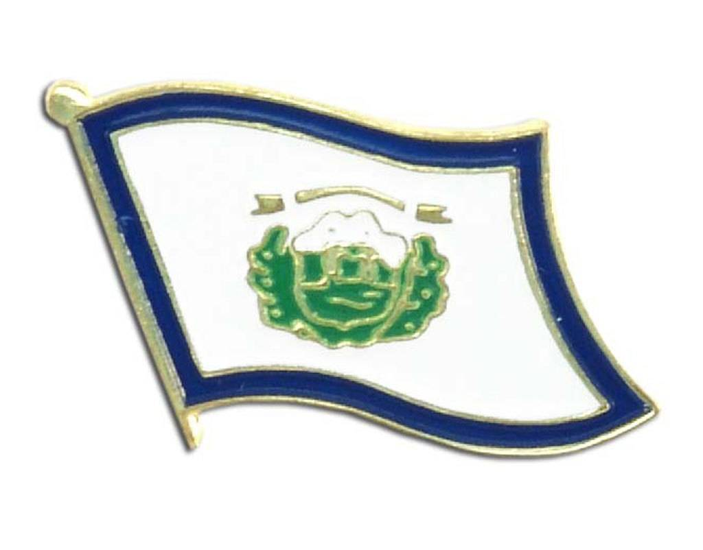 Online Stores Lapel Pin - West Virginia Flag