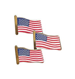 FUN EXPRESS Lapel Pins - United States (USA) 24ct