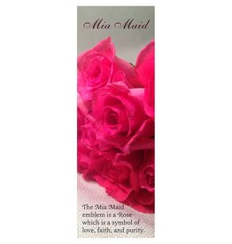 Popcorn Tree Mia Maid Class Bookmarks (Photo), 6ct