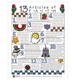 Popcorn Tree Articles of Faith - Posters & Cards, 20pk
