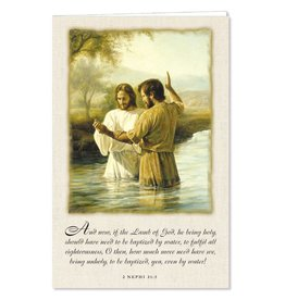 Ringmasters Program Covers - Baptism of Christ, 100ct