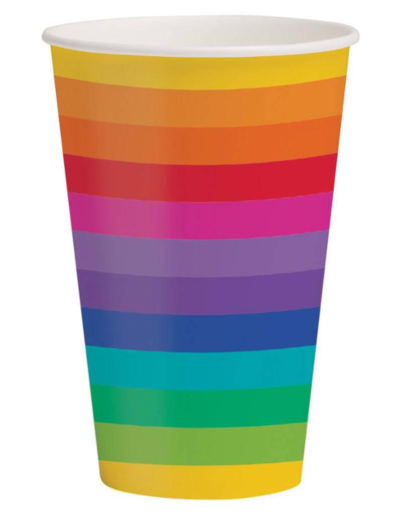 Creative Converting Rainbow - Cups, 12oz