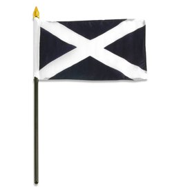 "Online Stores Stick Flag 4""x6"" - Scotland"