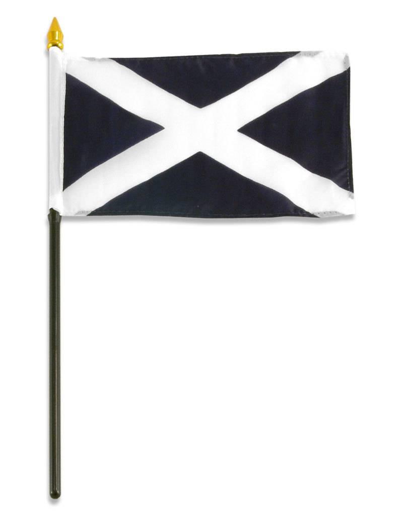 "Online Stores Stick Flag 4""x6"" - Scotland"