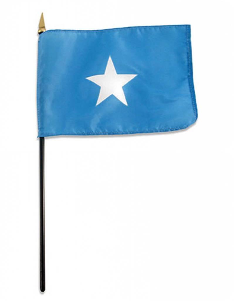 "Online Stores Stick Flag 4""x6"" - Somalia"