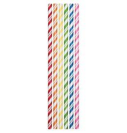 Creative Converting Straws - Assorted Colors - 24 pcs
