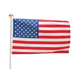 US Toy US Flag Kit w/ Aluminum Pole - 3'x5'